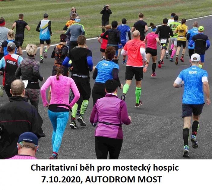 Charitativní běh pro mostecký hospic