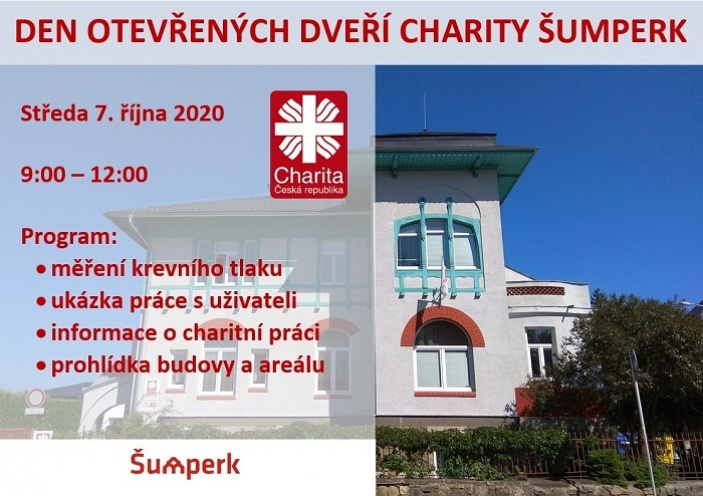 Den otevřených dveří Charity Šumperk