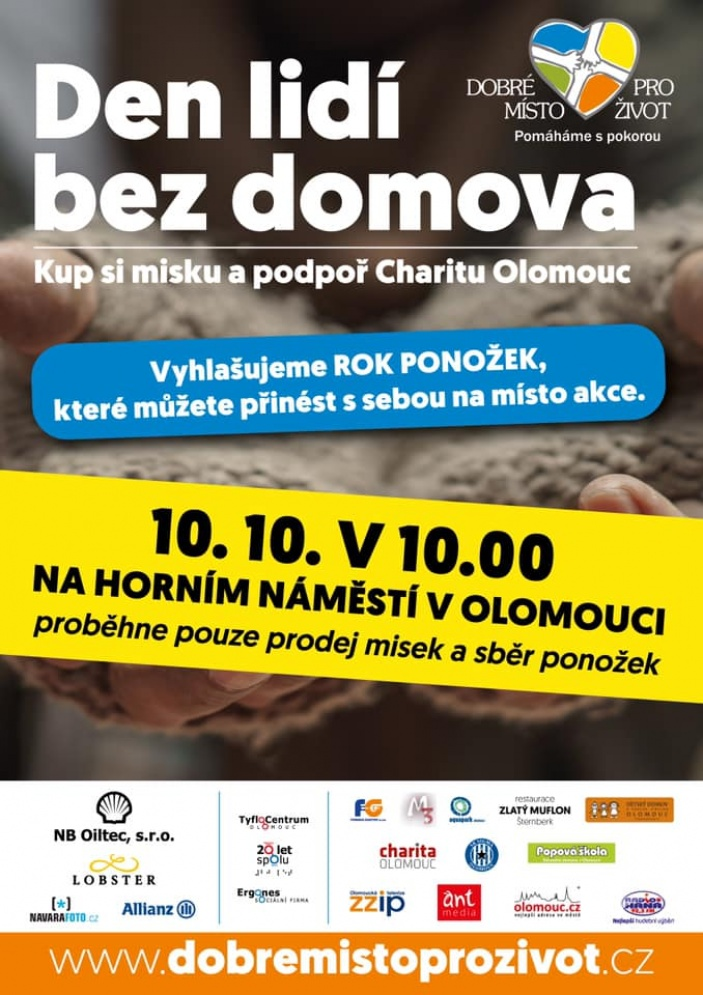 Den lidí bez domova