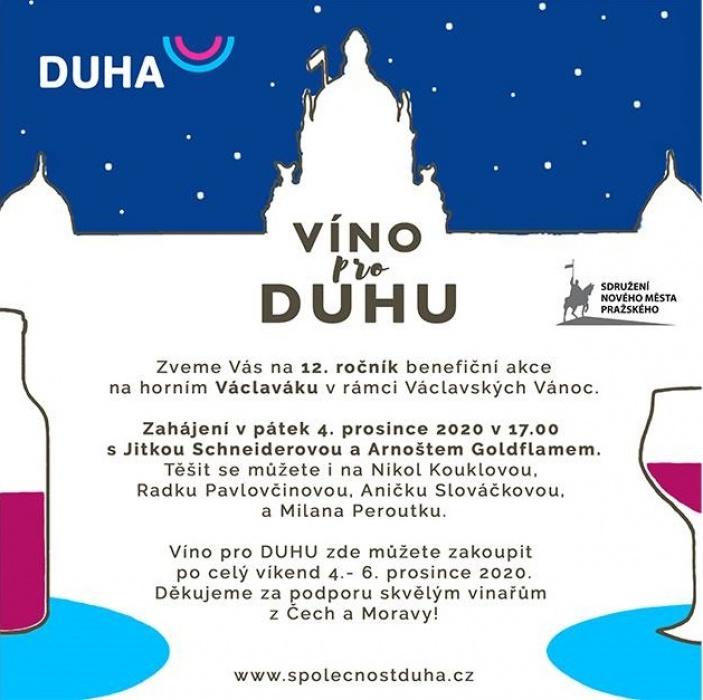 Víno pro DUHU