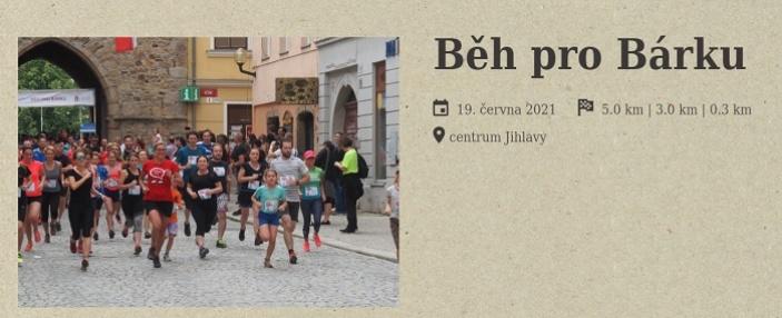 Běh pro Bárku 2021