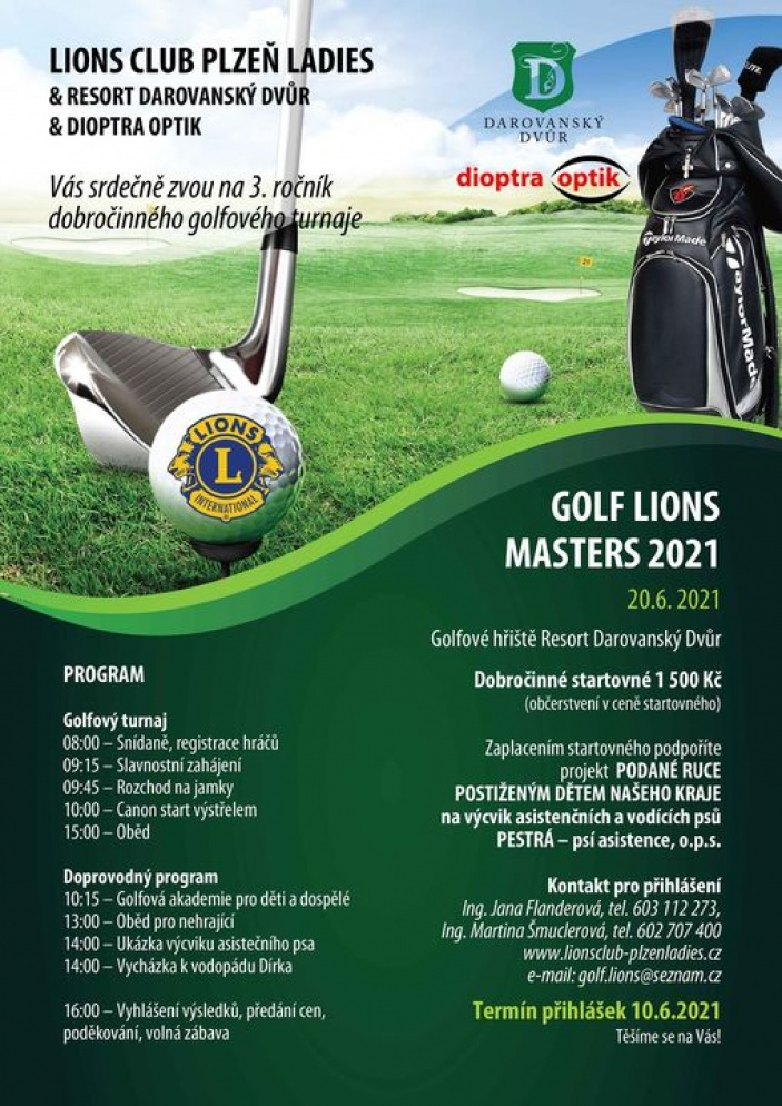 GOLF LIONS MASTERS 2021