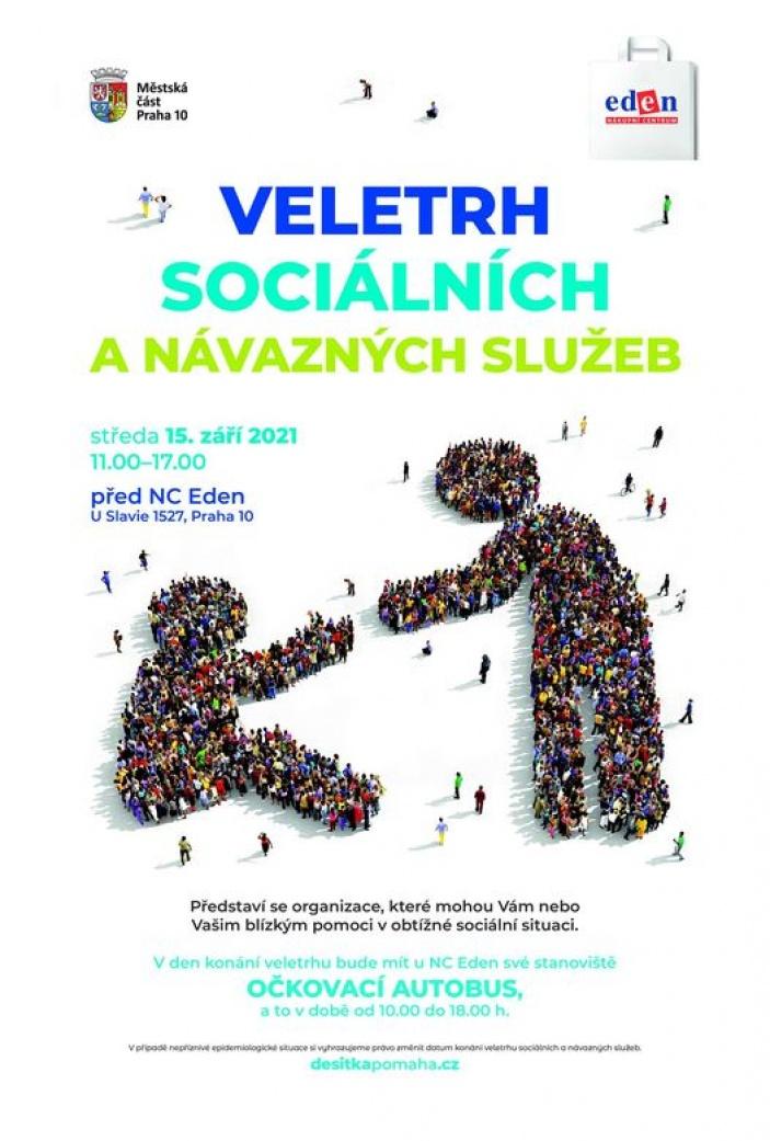 Veletrh sociálních a návazných služeb na Praha 10