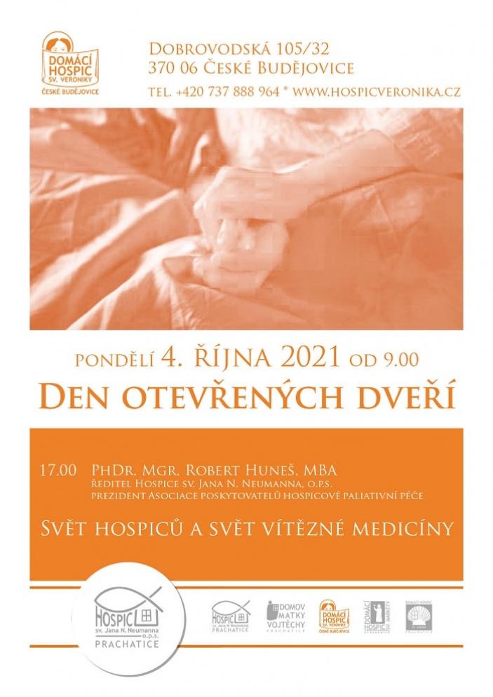 Den otevřených dveří v Domácím hospici sv. Veroniky