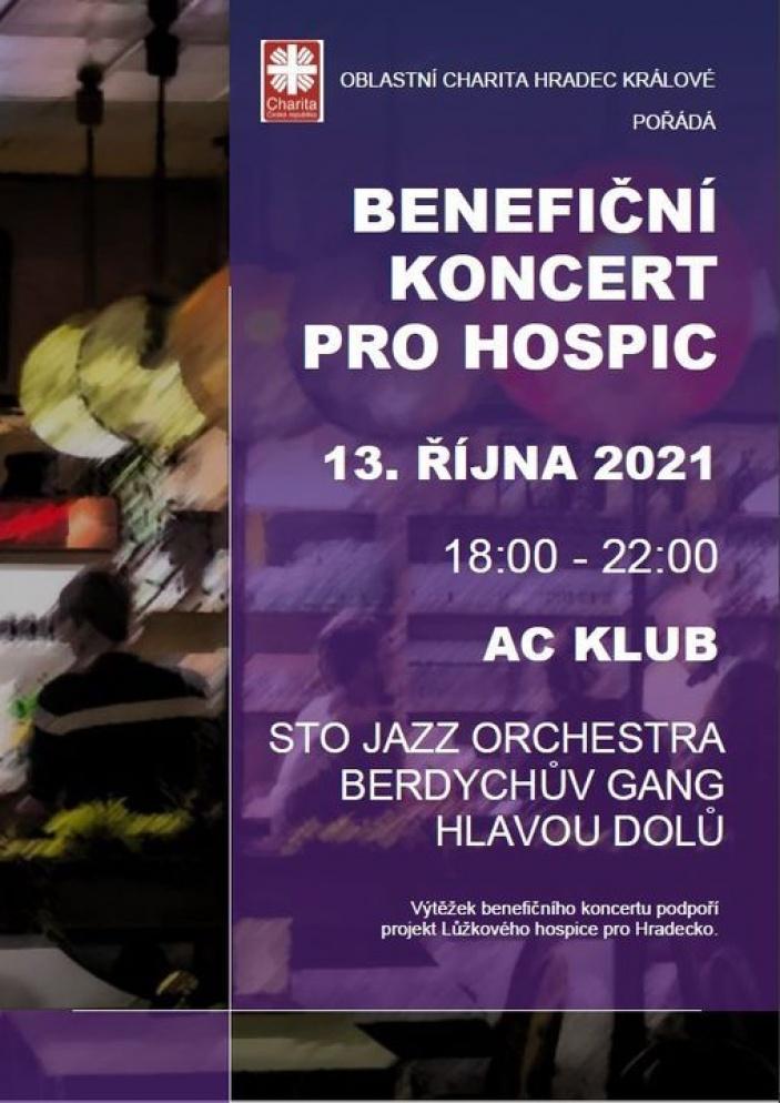 Benefiční koncert pro hospic