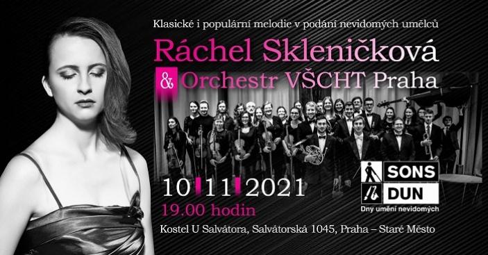 Koncert v rámci festivalu Dny umění nevidomých v Praze
