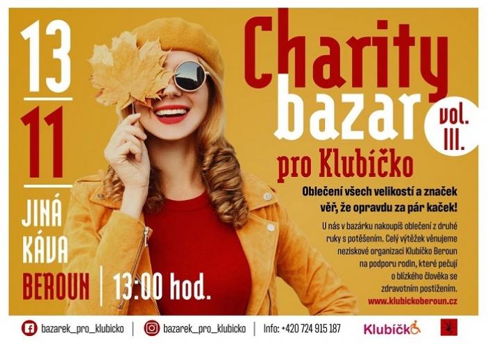 Charity bazar pro Klubíčko