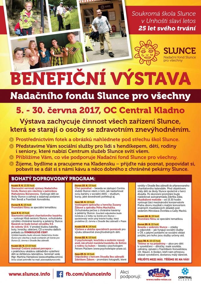 Benefiční výstava Nadačního fondu Slunce pro všechny