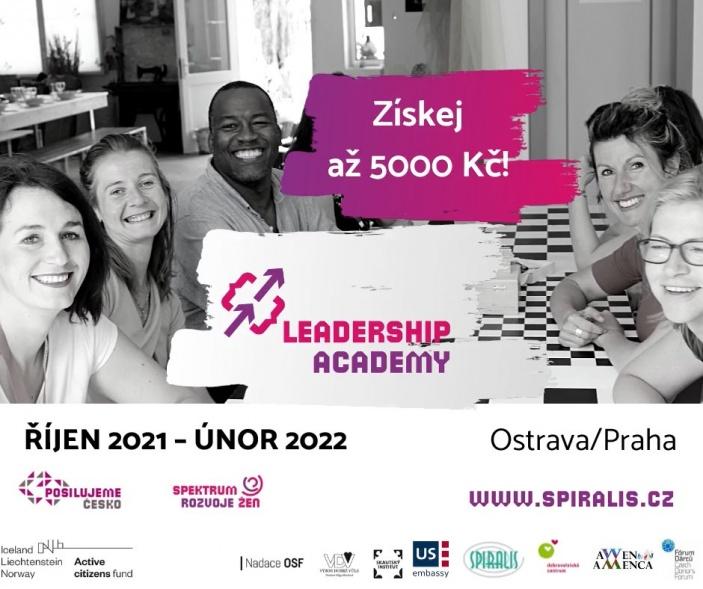 Leadership Academy Spiralis v Moravskoslezském kraji