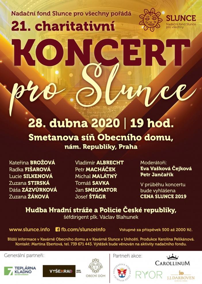 Charitativní koncert pro Slunce