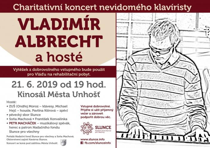 Vladimír Albrecht a hosté - koncert nevidomého hudebníka