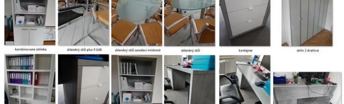 Darujeme hezký kancelářský nábytek ve skvělém stavu