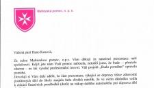 Reference Maltézská pommoc