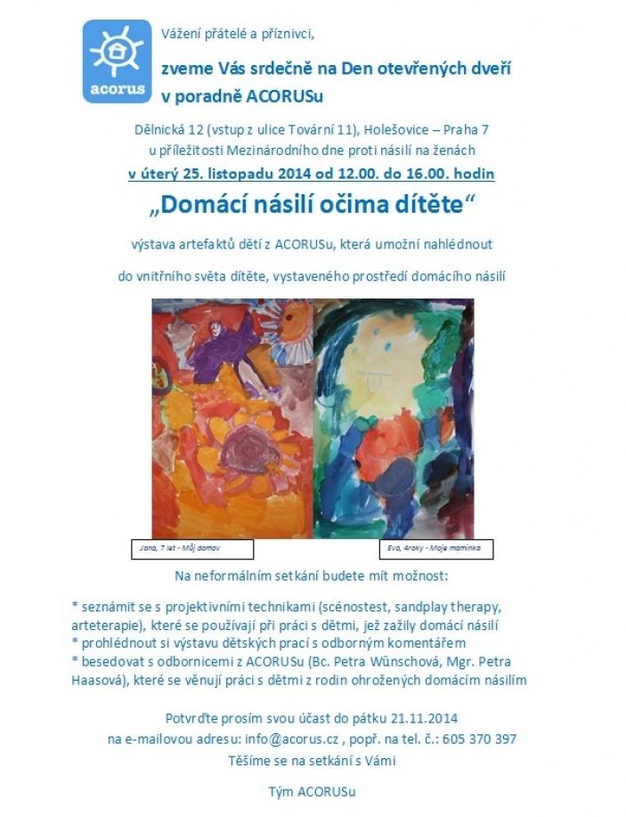 25. listopad - Mezinárodní den proti násilí na ženách
