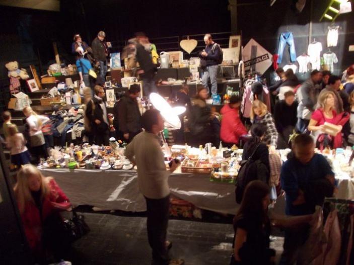 Vánoční dobročinný bazar v Mokré čtvrti