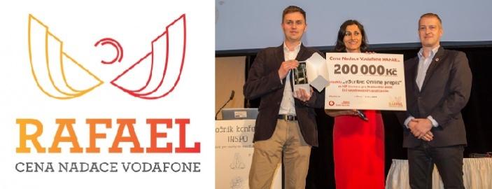Přihlaste svůj projekt do soutěže o cenu Rafael a získejte 200 000 Kč