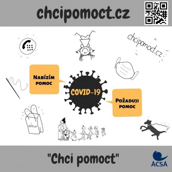 Nový portál chcipomoct.cz pomáhá koordinovat dobrovolníky