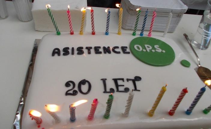 Děkujeme, pokračujeme - 20 let Asistence
