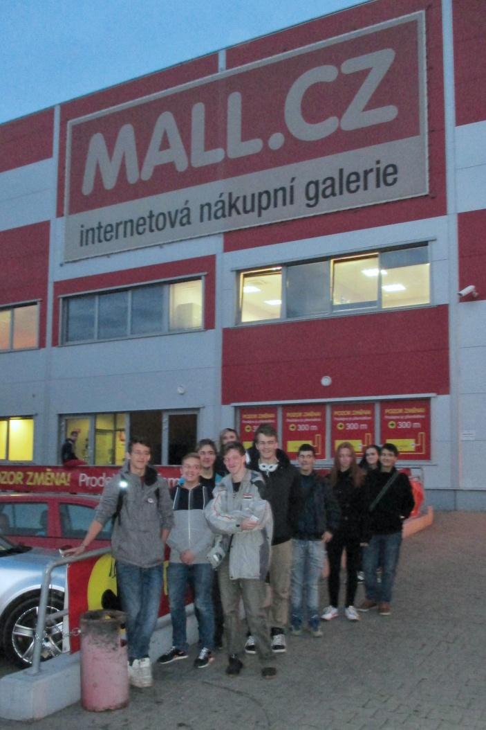 Exkurze v Mall.cz
