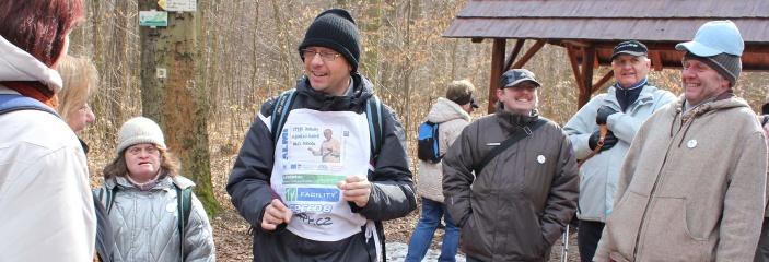 Český Forrest Gump putuje stovky kilometrů