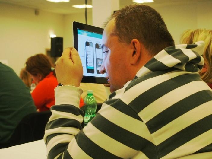 Konference INSPO je maximálně přístupná i pro účastníky s těžkým zrakovým postižením