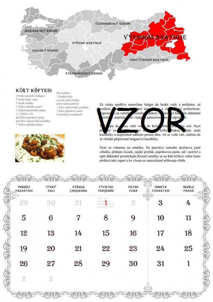 Kde se vzal nápad vytvořit Kalendář tureckých receptů, jehož výtěžek jde na podporu o. s. Smíšek?