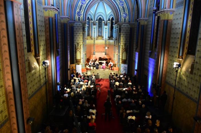 Kostel Sacre Coeur rozezněl benefiční Koncert pro IMPULS