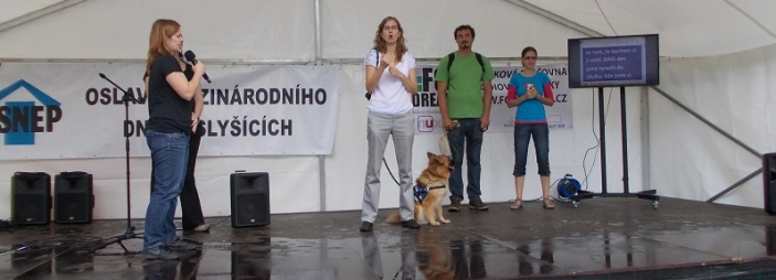 Oslava Mezinárodního dne neslyšících