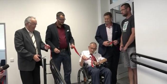 Ministerstvo vnitra vybudovalo pracovní prostory pro handicapované