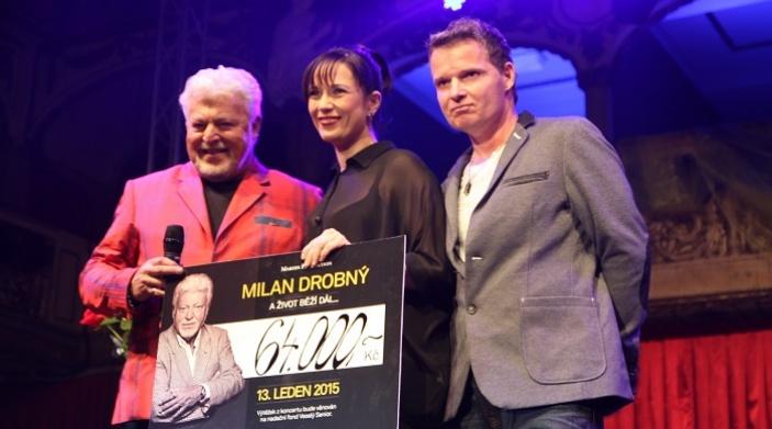 Milan Drobný oslavil narozeniny dárkem pro nadační fond Veselý senior