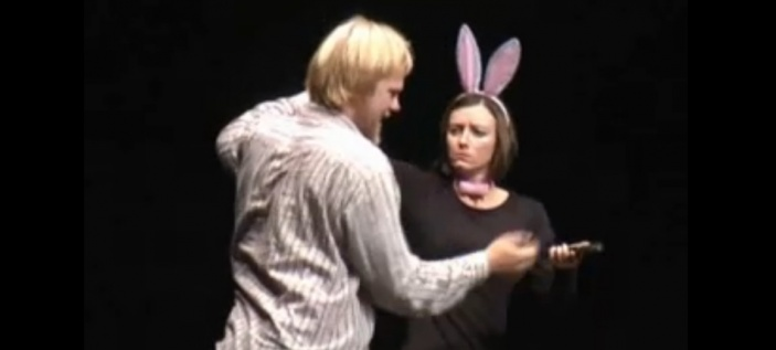 MLUVÍCÍ RUCE - přehlídka tvorby ve znakovém jazyce