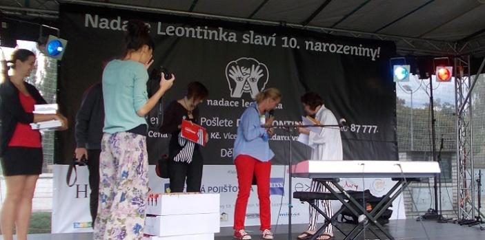 Oslava 10. narozenin Nadace Leontinka