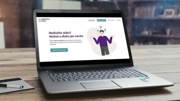 Dlužím státu, co s tím? Pomoc občanům nabízí vylepšená webová aplikace Nedlužím státu 2.0