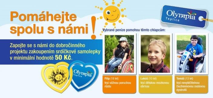 Pomáhejte s OC Olympia Teplice