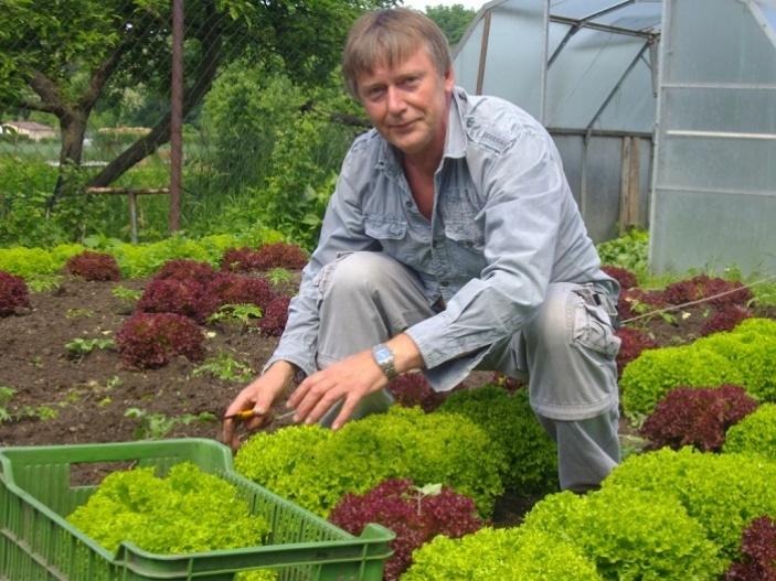 Farmář, který se dostal z nemoci díky práci, která ho baví