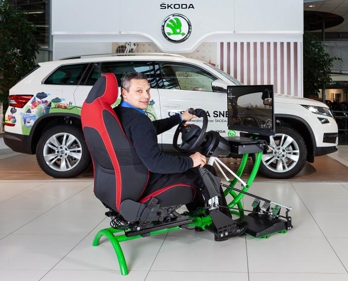 Účastníci konference INSPO si budou moci vyzkoušet handbike trenažér a trenažér na ruční řízení osobního automobilu