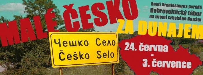 Obyvatelům nejmenší české vesnice na světě pomohou v létě brontosauři. Přidej se k nim