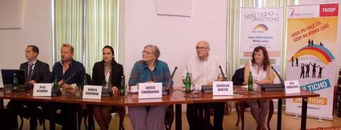 Tisková konference k zahájení 3. ročníku festivalu Týden komunikace osob se sluchovým postižením
