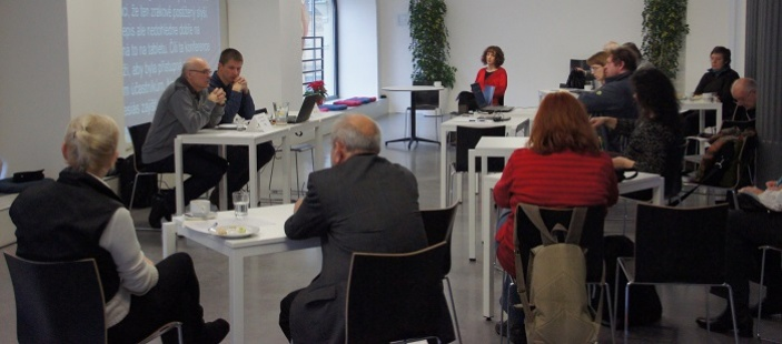 Tisková konference - INSPO a Cena Nadace Vodafone Rafael