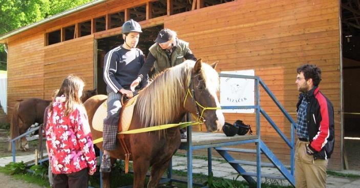 Kde koně pomáhají a Tamjdem s nimi!