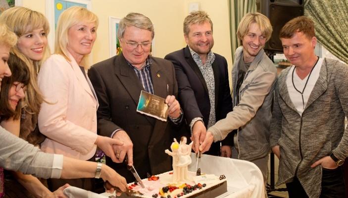 Tisková konference k benefičně narozeninovému Galavečeru Vlastimila Harapese