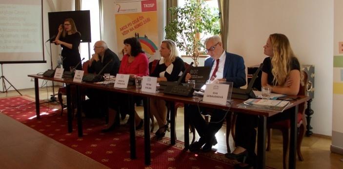 Tisková konference k 6. ročníku festivalu Týden komunikace osob se sluchovým postižením