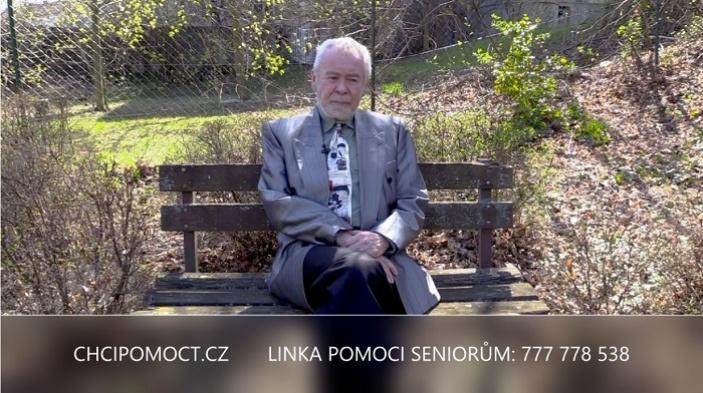 Portál chcipomoct.cz spustil na Velikonoce nový cyklus videí pro všechny seniory, kteří mají v této nelehké době strach