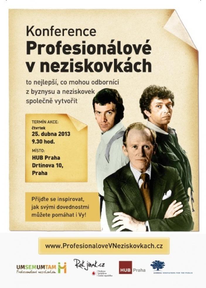 Profesionálové v neziskovkách