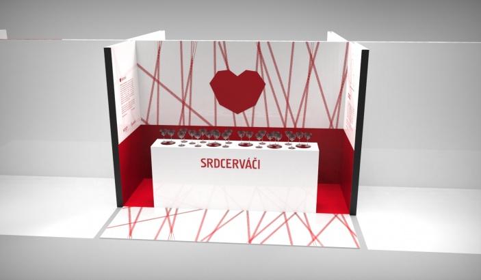 Srdcerváči se představí na Designbloku 2016, ukážou nové skleničky ve tvaru srdce
