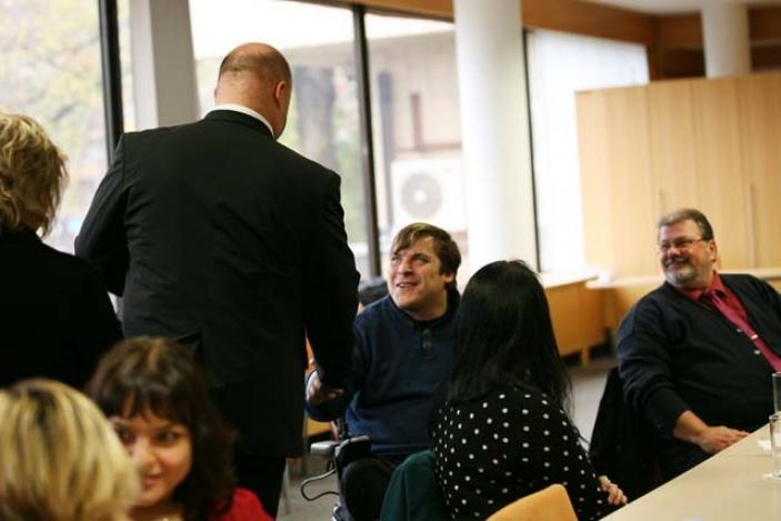 Ministerstvo vnitra spolupracuje se zdravotně handicapovanými studenty